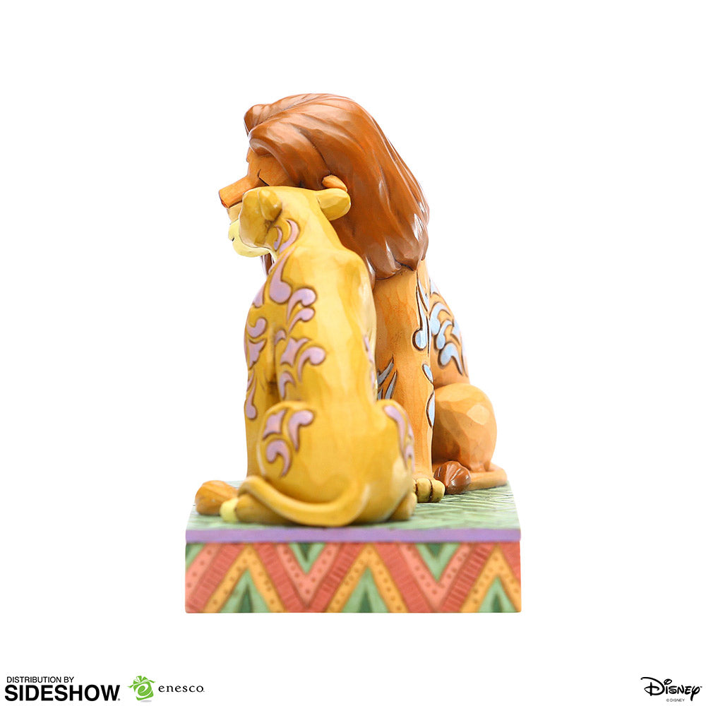 Disney: The Lion King - Simba and Nala Snuggling Figurine 0028399219261
