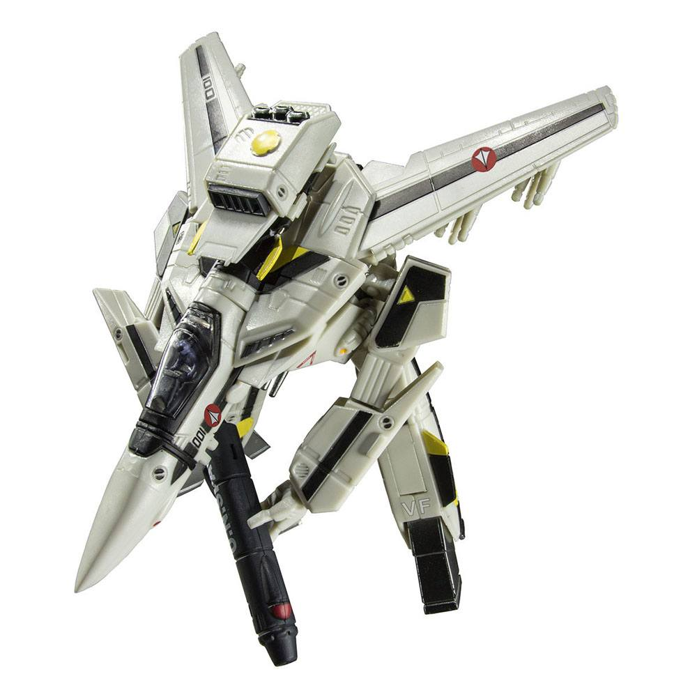 Macross Retro Transformable Collection Action Figure 1/100 VF-1J Focker Valkyrie 13 cm 0819872010938