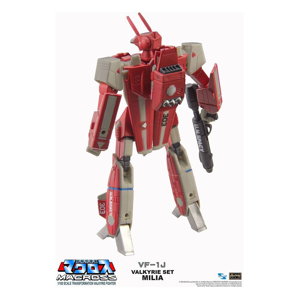 Macross Retro Transformable Collection Action Figure 1/100 VF-1J Milia Valkyrie 13 cm 0819872010945