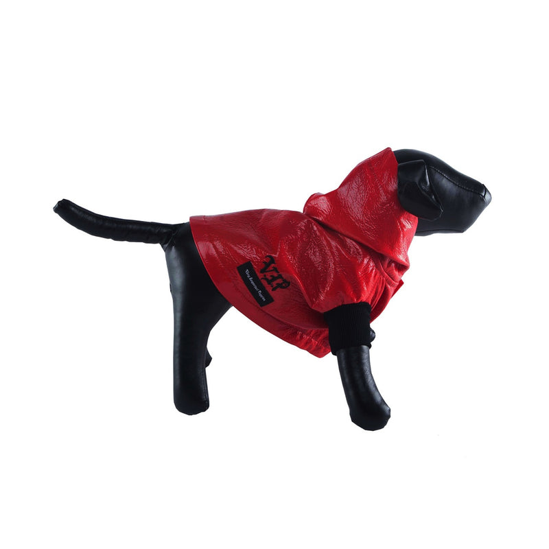 CHERRY VINYL RAINCOAT