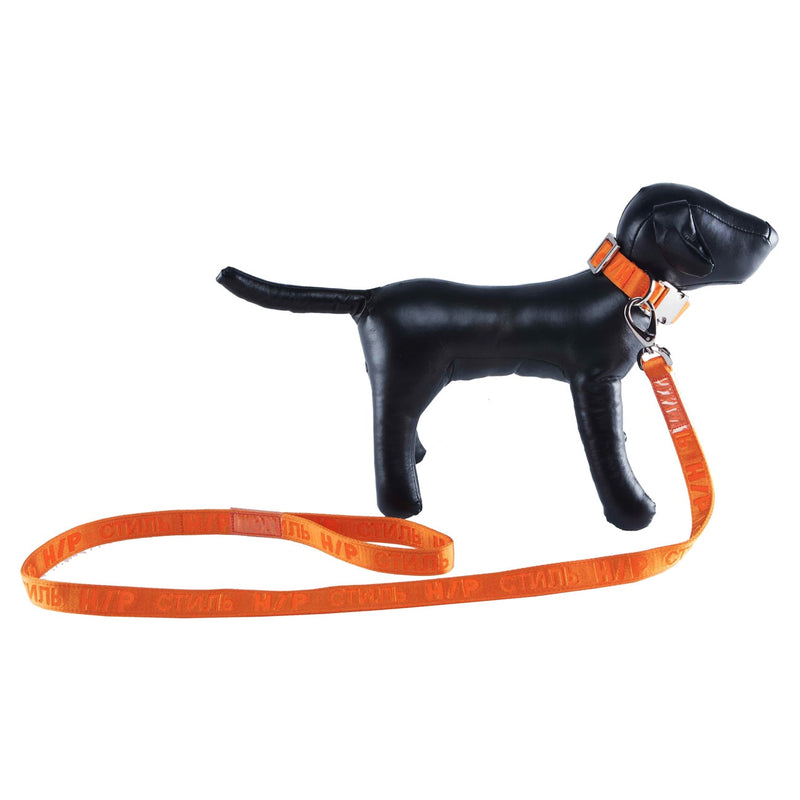 HERON PRESTON JACQUARD TAPE LEASH