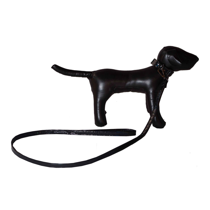 VIP HOLOGRAM VINYL THIN LEASH