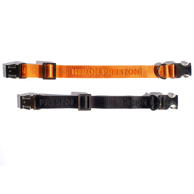 HERON PRESTON FULL LOGO ORANGE TAPE COLLAR