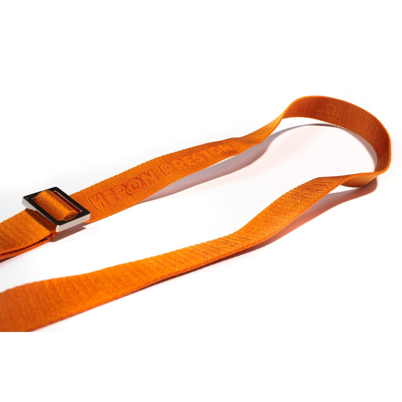 HERON PRESTON FULL LOGO ORANGE TAPE LEASH & BELT