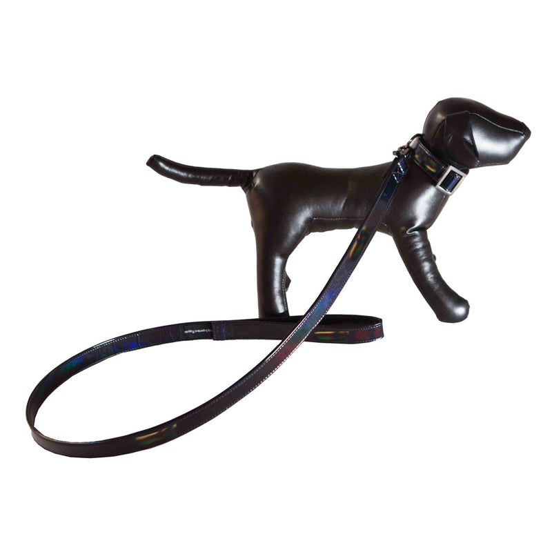 "VIP HOLOGRAM VINYL 1"" THICK LEASH"