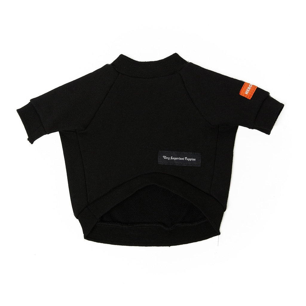 HERON PRESTON X NASA LOGO BLACK CREWNECK