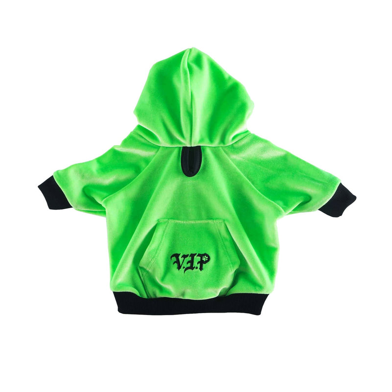 MONSTER GREEN ZIPPER HOODIE