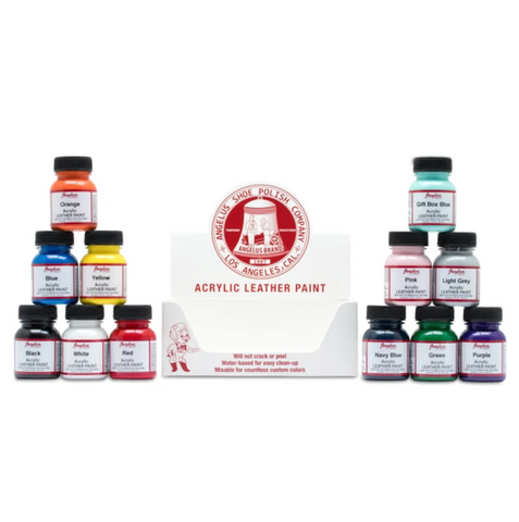 12 Color Paint Kit
