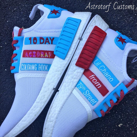 Chance The Rapper Custom NMDs