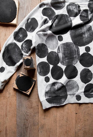 59edf901e5bc Block printing is an easy way to add print to fabrics that has been done for  many years. You can then use the fabric to create anything you like