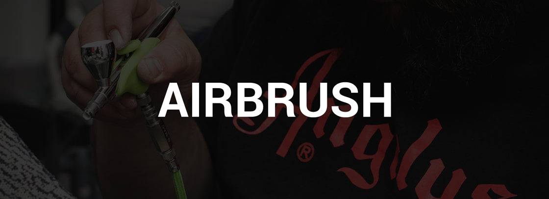 Angelus Airbrushes - Airbrush machines, compressors, and accessories.