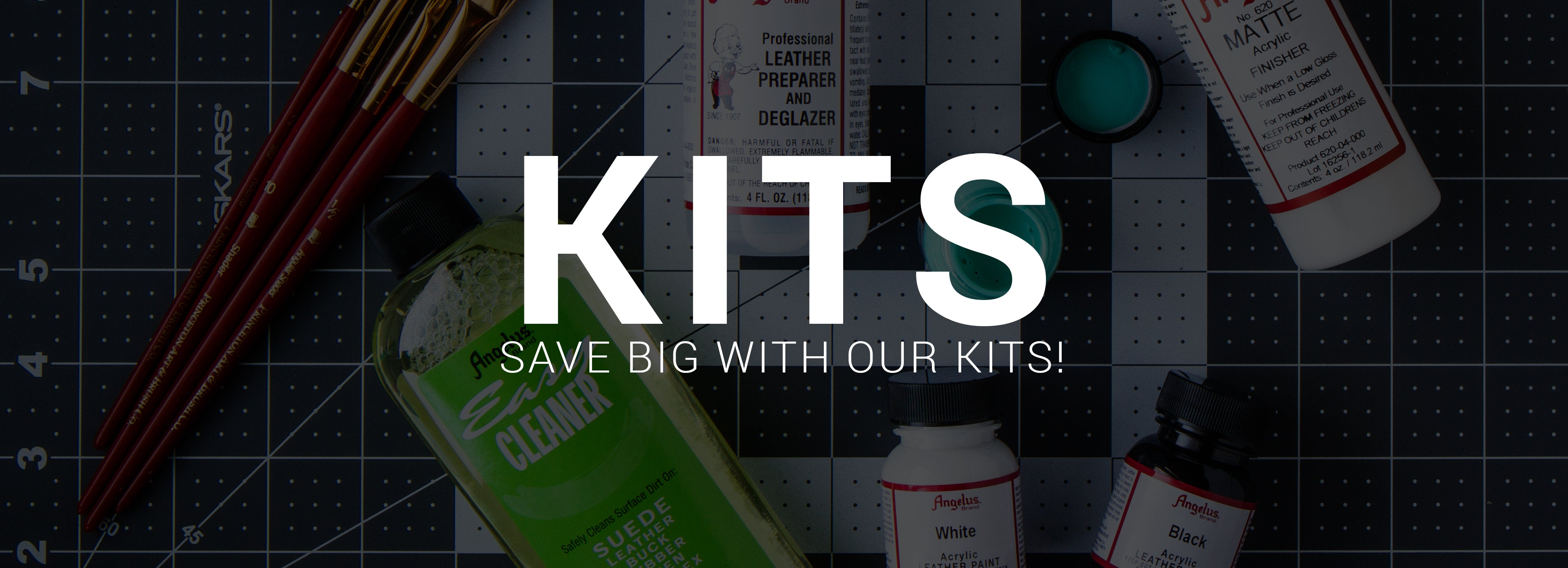 Angelus Starter Kits. Save big with our bundled deals!