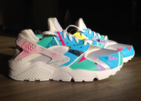 693499ef580 Our very own Angelus Direct sponsored artist  sneakerkraft tapped into the  era with these customs.