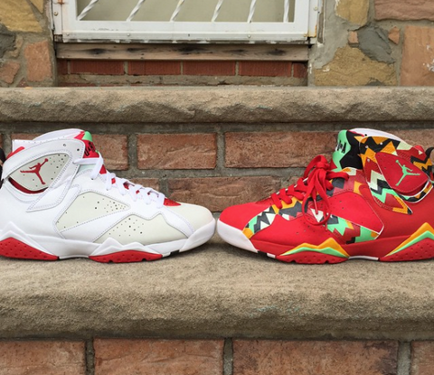 separation shoes 96236 c6344 ... customs pop up, it s great to explore the history of that inspiration.  We saw these insane Air Jordan VII s that customizer Future Kicks did, ...