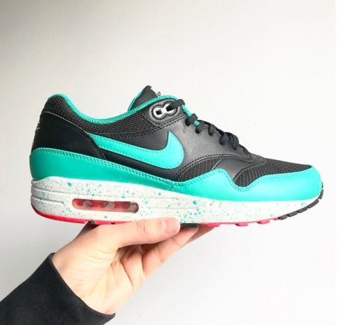 buy popular e50b3 f036e And if not, make your own Air Max 1 color way, like these great South Beach  customs by  davidzcustom for example.