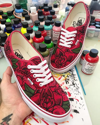 Rose-Covered Vans