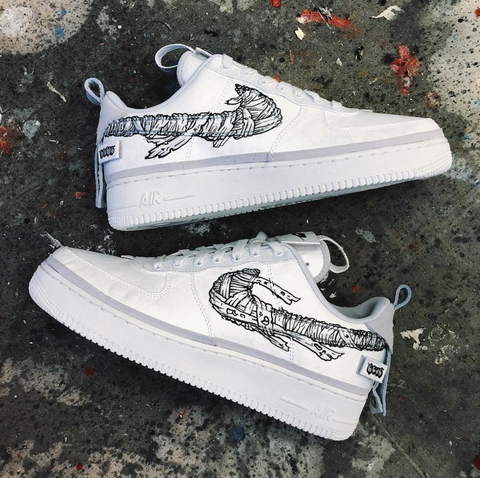 2274632476cb17 Custom Air Force 1