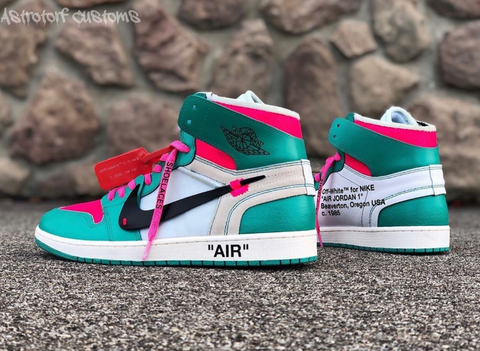 Custom Off-White 1s