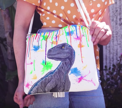 Custom Dinosaur Purse