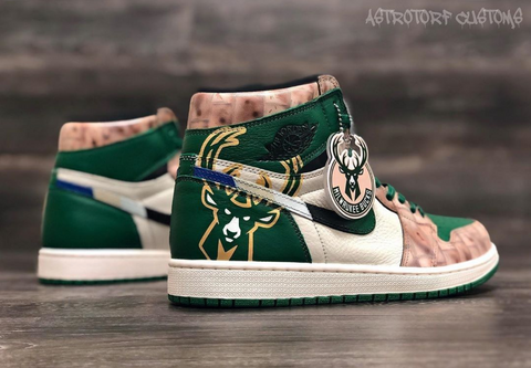 Air Jordan 1 - Milwaukee Bucks