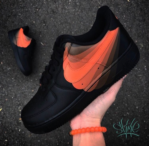 Black and Orange Air Forces