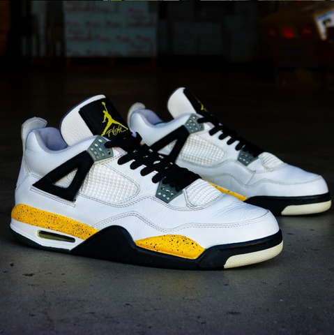 "Air Jordan ""Tour Yellow"" 4s"
