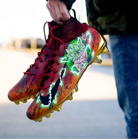 Broly Custom Cleats