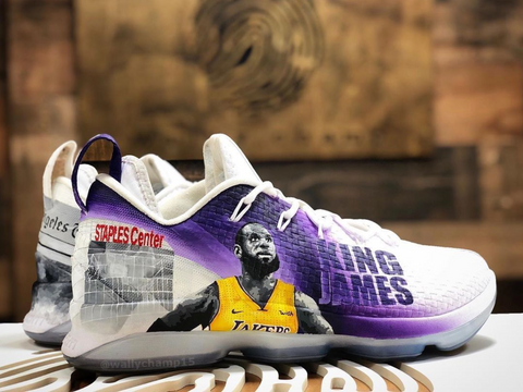 LeBron Lakers Custom