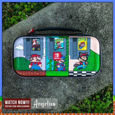 DIY: Super Mario Custom Nintendo Switch Travel Case | Angelus Paint