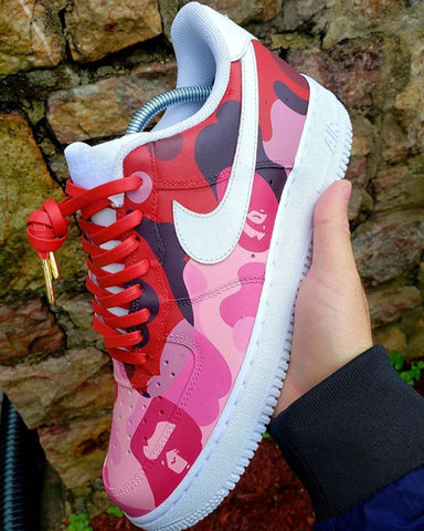 Bape Air Force 1s