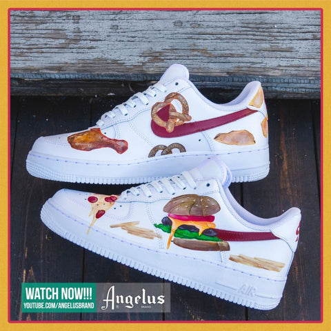 Custom Junk Food Air Force 1's