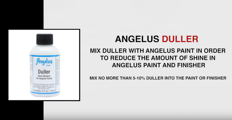 The Do's & Don'ts of Using Angelus Duller | Angelus Paint