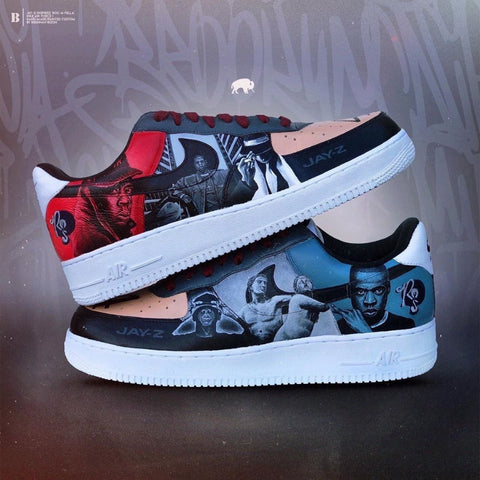 Jay-Z Custom Air Force 1