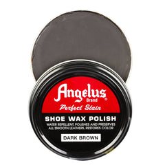 Angelus Dark Brown Shoe Wax Polish
