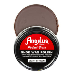 Angelus Light Brown Shoe Wax Polish