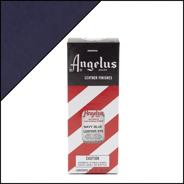 Angelus Brand Navy Blue Leather Dye | Shoe Care Products Made in the USA