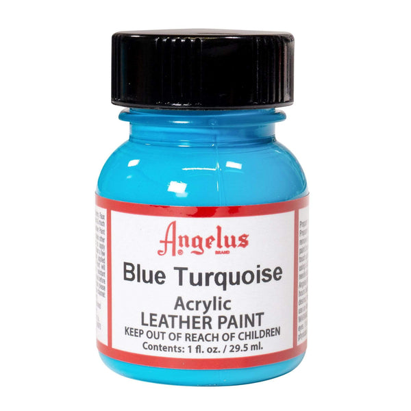 Angelus makes a premium Blue Turquoise Paint for your Hornets-themed custom sneaker project.