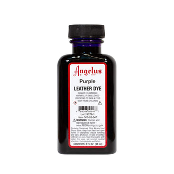 Purple Leather Dye