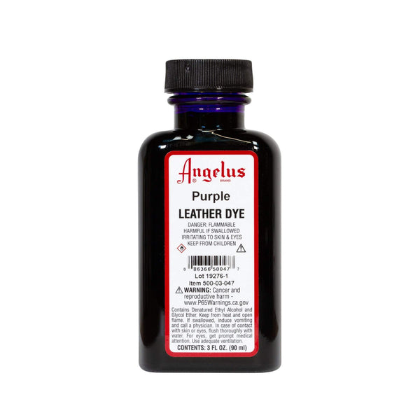 Angelus Purple Leather Dye - 3 oz.