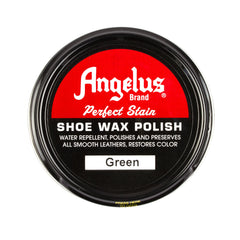Angelus Green Shoe Wax Polish