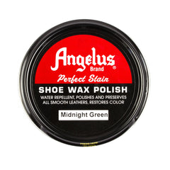 Angelus Midnight Green Shoe Wax Polish