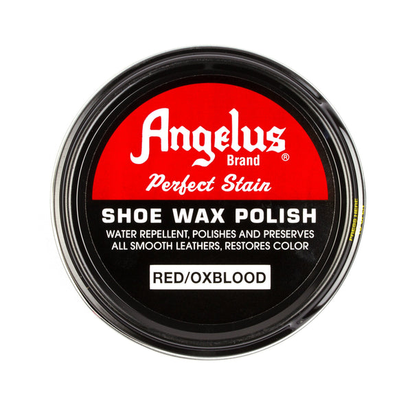 Fresh Angelus Red/Oxblood Shoe Wax Polish | Angelus Direct Leather Care HY54