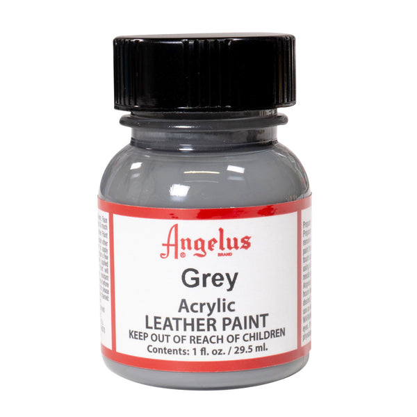 Angelus Grey Paint is exclusively at Angelus Direct, makers of the best acrylic leather paint.