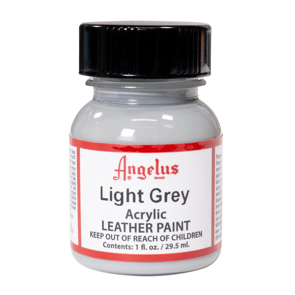 Angelus Light Grey Acrylic Leather paint. Great for all sneaker projects.