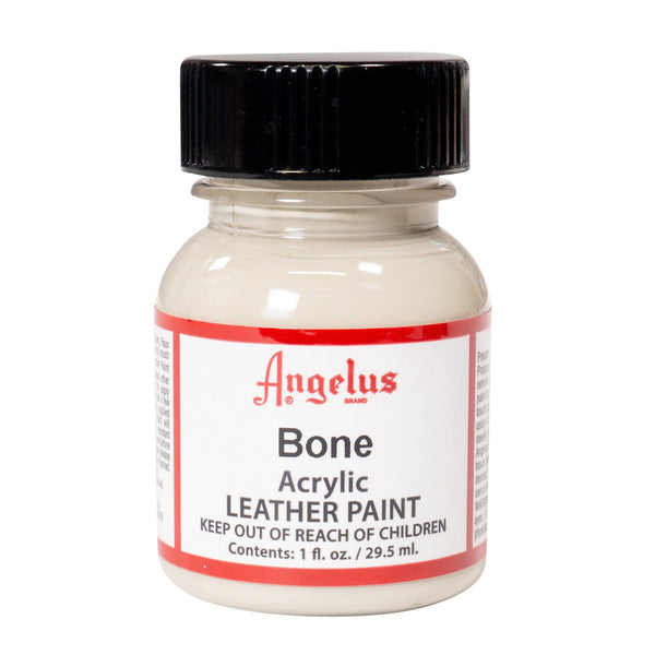 Angelus Bone Paint makes a clean color base for your custom Jordans.