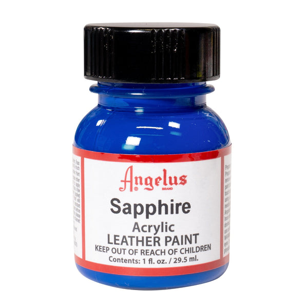Angelus Sapphire Acrylic Leather Paint - Flexible Shoe Paint