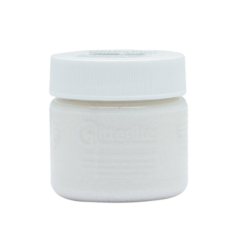 Angelus White Sugar Glitterlite is perfect for accentuating whites on your custom sneakers.