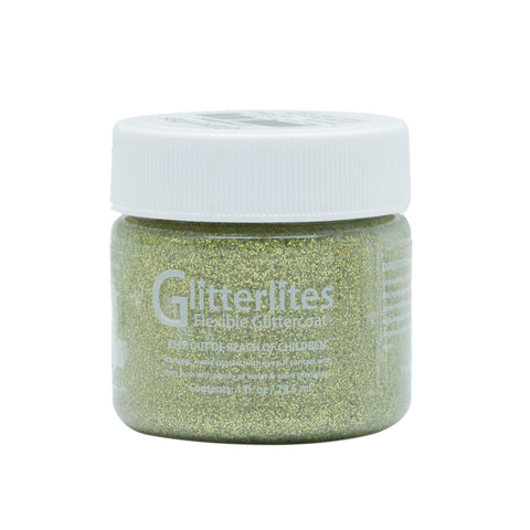 Angelus Glitterlites are perfect for accents. Our Limelite glitter paints adds shimmer.