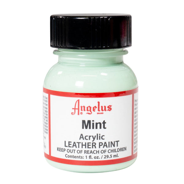 Angelus Min Acrylic Leather Paint - Flexible paint for customizing shoes and sneakers.