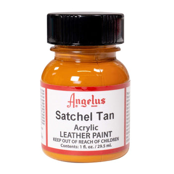 Angelus Satchel Tan Paint